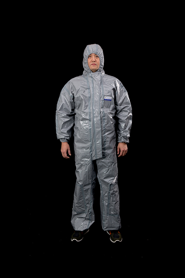 CatIII Type 3 coverall grey