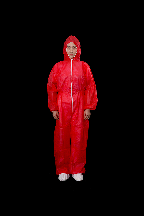 PP coverall red