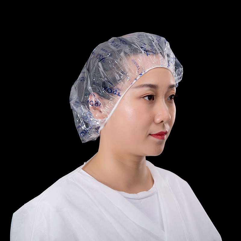 Printed shower cap