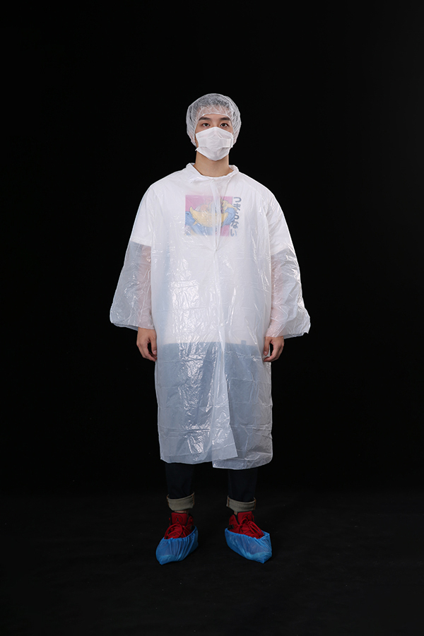 Disposable PE Lab Coat