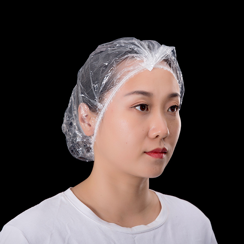 Pleated shower cap