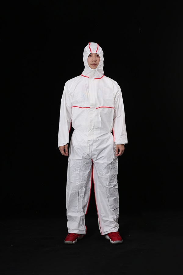 Cat III,TYPE 5/6 coverall with bound seams
