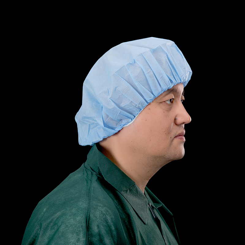 Disposable Non Woven SMS Bouffant Nurse Cap